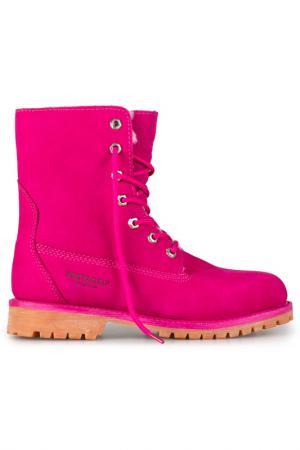 Ботинки BUSTAGRIP. Цвет: розовый