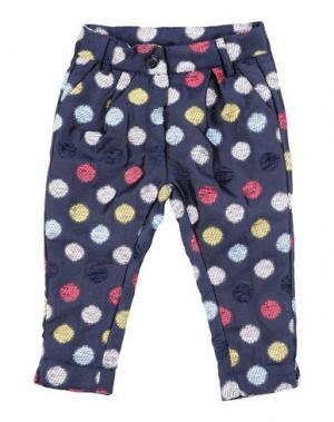 Повседневные брюки TO BE TOO. Цвет: темно-синий