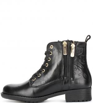 Ботинки NOBRAND. Цвет: камуфляж, черный