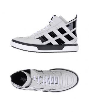 Высокие кеды и кроссовки ALEJANDRO INGELMO. Цвет: белый