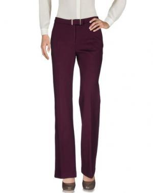 Повседневные брюки JAN & CARLOS. Цвет: баклажанный