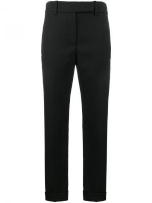 Прямые брюки Haider Ackermann. Цвет: чёрный