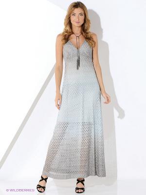 Платье Ana Alcazar. Цвет: серый