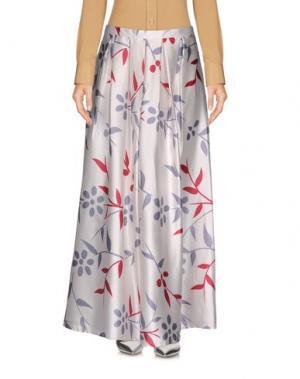 Длинная юбка GIORGIA & JOHNS. Цвет: слоновая кость