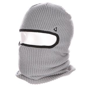 Балаклава  Facemask Grey Ashbury. Цвет: серый