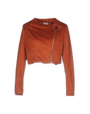 Куртка JIJIL. Цвет: ржаво-коричневый