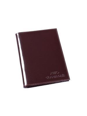 Обложка для документов водителя BEFLER. Цвет: коричневый