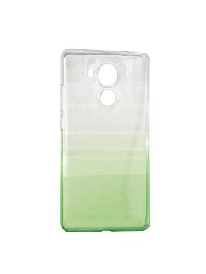 Крышка задняя для Huawei MATE 8 Силикон IQ Format. Цвет: зеленый