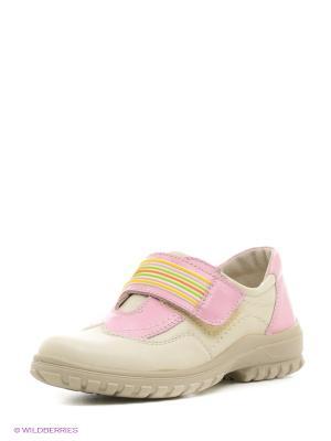Ботинки San Marko. Цвет: кремовый