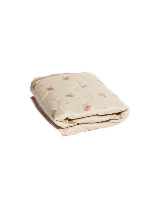 Одеяло детское легкое 140х105 см. Dream time. Цвет: бежевый