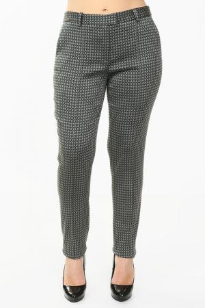 Зауженные брюки с застежками Luisa Spagnoli. Цвет: зеленый