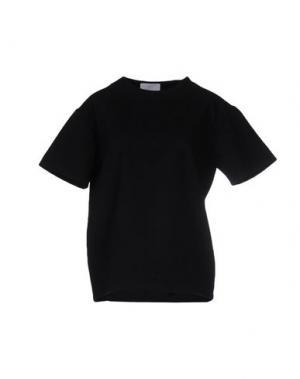 Блузка CHARLIE MAY. Цвет: черный