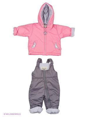 Комплект одежды Лео. Цвет: розовый