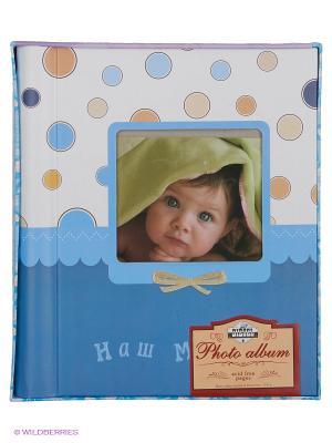 Фотокнига Our baby 9 VELD-CO. Цвет: белый, синий