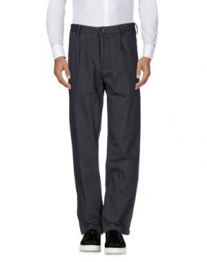 Повседневные брюки NORSE PROJECTS. Цвет: стальной серый