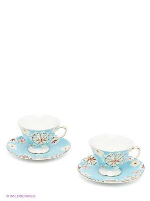 Чайный набор Антонелла Pavone. Цвет: голубой