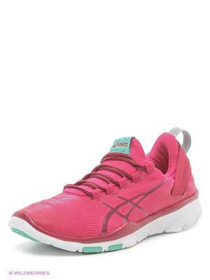 Спортивная обувь GEL-FIT SANA 2 ASICS. Цвет: розовый, белый