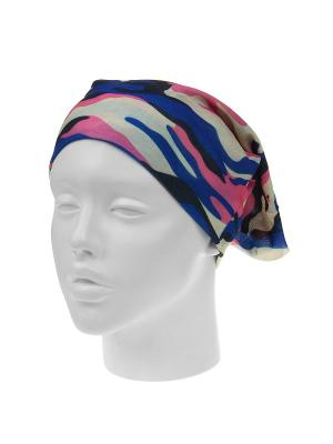 Повязка на голову Infiniti. Цвет: розовый, молочный, синий