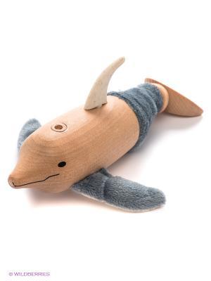 Дельфин AnaMalz. Цвет: серый, оранжевый