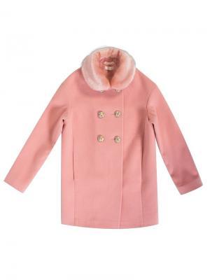 Пальто-бушлат Stillini. Цвет: розовый