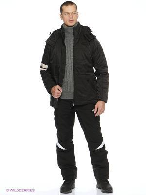 Куртка утепленная Forward. Цвет: черный