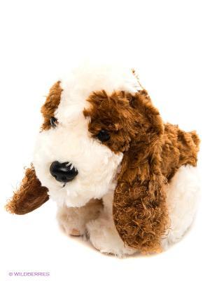 Собака сидячая PLUSH APPLE. Цвет: молочный, бежевый