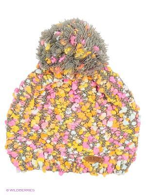 Шапка MAXIMO. Цвет: желтый, розовый, серый