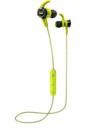 Вставные наушники iSport Victory Wireless Monster. Цвет: зеленый
