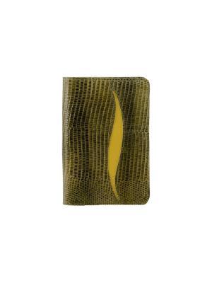 Обложка паспорта Вектор. Цвет: оливковый