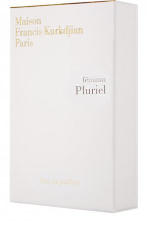 Рефиллер Pluriel Maison Francis Kurkdjian. Цвет: бесцветный