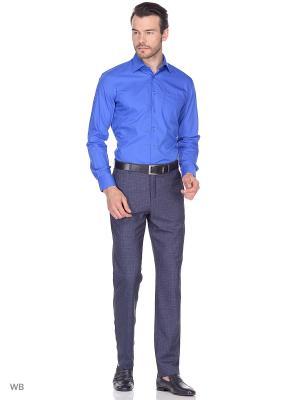 Рубашка Fayzoff-SA. Цвет: синий
