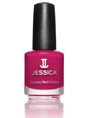 Лак для ногтей  #485 Blushing Princess, 14,8 мл JESSICA. Цвет: малиновый