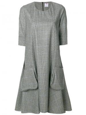 Flared knitted dress Ultràchic. Цвет: чёрный