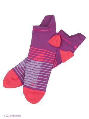 Носки NIKE RUNNING DRI-FIT LIGHTWEIG. Цвет: фиолетовый