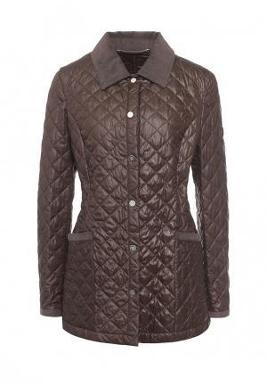 Куртка утепленная Husky. Цвет: коричневый