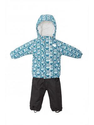 Комплект одежды REIKE. Цвет: бирюзовый