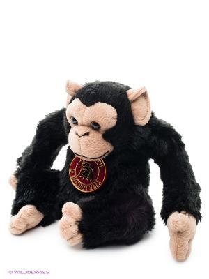Мягкая игрушка Шимпанзе Мульти-пульти. Цвет: черный