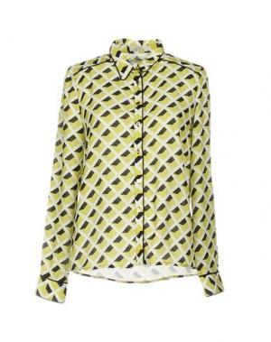 Pубашка CUPLÉ. Цвет: кислотно-зеленый
