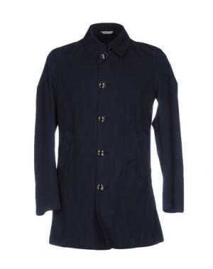 Легкое пальто MANUEL RITZ. Цвет: темно-синий