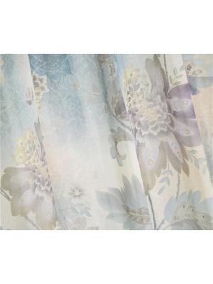 Вуаль Бирюза в цвету 250х265 см T&I. Цвет: бирюзовый