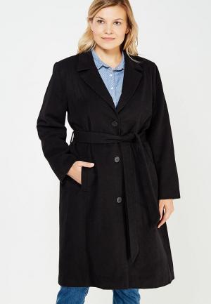 Пальто Zizzi. Цвет: черный
