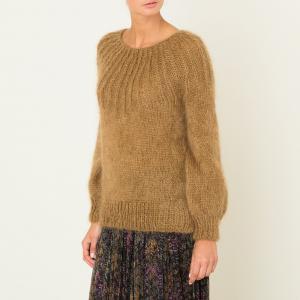 Пуловер LUEUR MES DEMOISELLES. Цвет: бежевый,охра