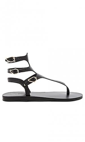 Сандалии themis Ancient Greek Sandals. Цвет: черный