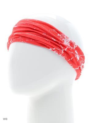 Повязка на голову Maxval. Цвет: красный
