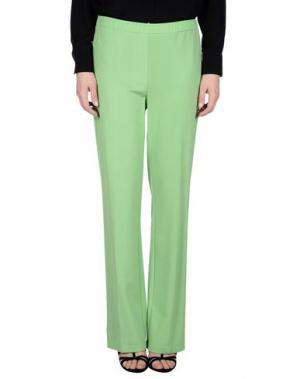 Повседневные брюки 1-ONE. Цвет: зеленый