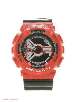 Часы G-Shock GA-110RD-4A CASIO. Цвет: красный