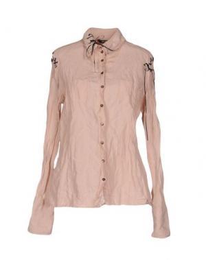 Pубашка GOSSIP. Цвет: розовый