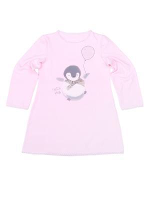 Ночная сорочка VATAGA. Цвет: розовый