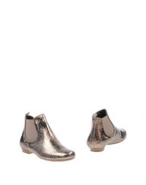 Полусапоги и высокие ботинки RÊVE D'UN JOUR. Цвет: платиновый