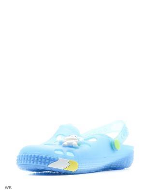 Шлепанцы Mursu. Цвет: голубой